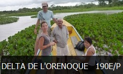 le Delta de l'Orenoque excursion