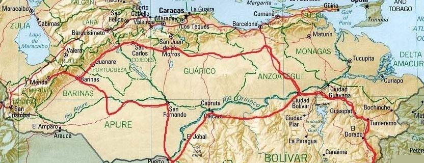 KLR au Venezuela Venezuela