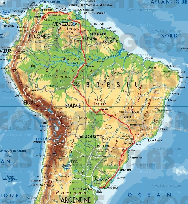 Tour de l'Amérique du sud en KLR part I Part3